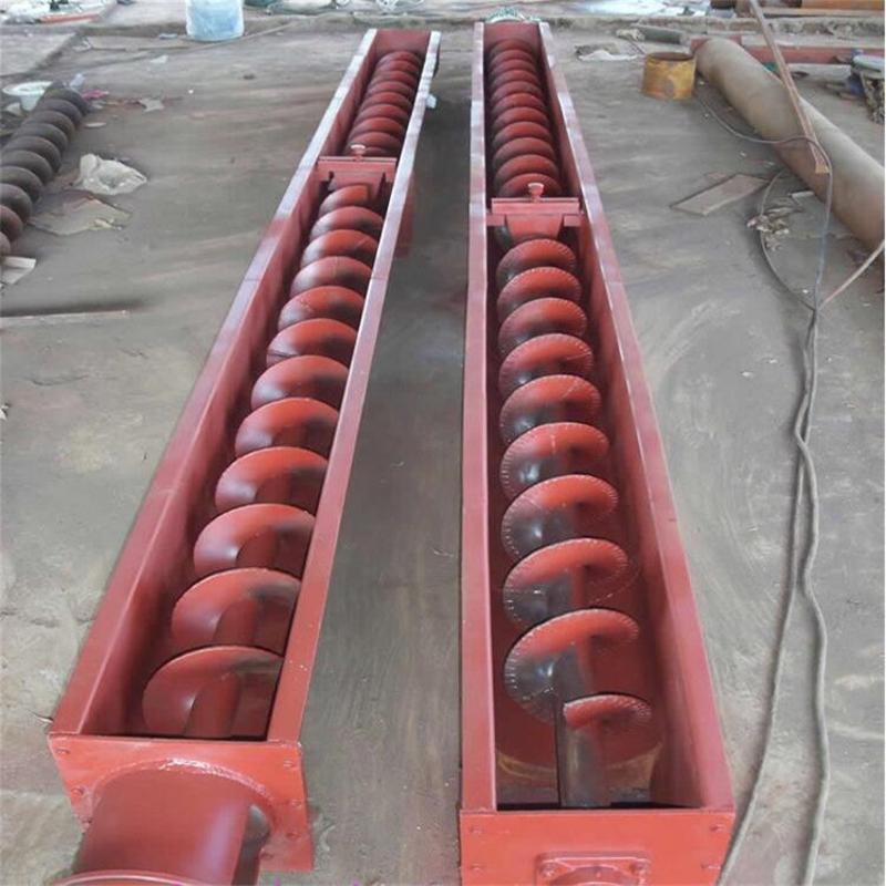 滚筒式螺旋输送机 螺旋输送机参数 可移动螺旋输送机