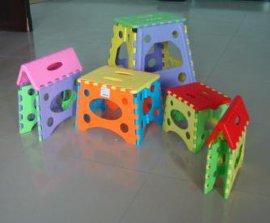 加厚塑胶折叠凳(中号)(0002)