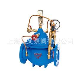 水力控制阀 上海冠龙阀门 水利电动控制阀HC600X