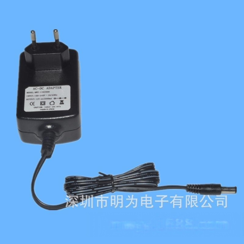 厂家直销安防摄像机电源 12W开关电源适配器