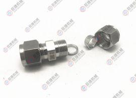 4-16mm不锈钢卡套接头 直通卡套终端 卡套直通接头 卡套式管接头