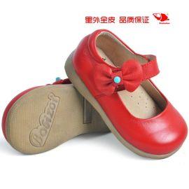 品牌童鞋真皮 2014**单鞋 简单大方公主童皮鞋  **单鞋 批发