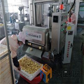 煎饼果子薄脆脆皮油炸机生产线厂家