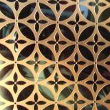 钛金镜面不锈钢蚀刻花板,钛金不锈钢腐蚀刻板