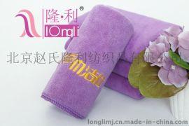 浅紫色消毒毛巾超强吸水不掉色知名连锁美容美发毛巾