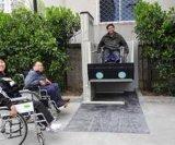 山东亚泰升降机,无障碍轮椅升降机