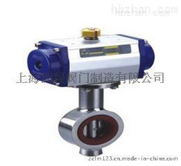 D671X卫生级气动对夹式蝶阀