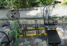 碳素钢卡位式自行车停车架