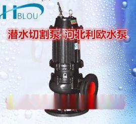 WQK潜水排污泵潜水污泥切割泵搅刀泵50WQK25-7-1.5搅拌化粪潜污泵沼气池抽渣泵污水杂质泵