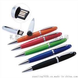 彩色圆珠笔u盘 触控笔u盘 电容笔u盘 可印logo镭射刻字 优盘笔