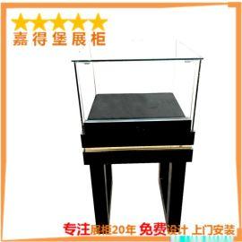 欧式烤漆珠宝展示柜首饰品展柜玻璃柜台木质黑色柜子货架厂家订做