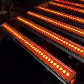 瑞光舞台灯光 36颗三合一DMX512全彩洗墙灯  LED舞台灯光 长条灯 线条灯