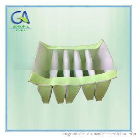 可清洗中效袋式过滤器 合成纤维滤袋(G3/G4/F5)