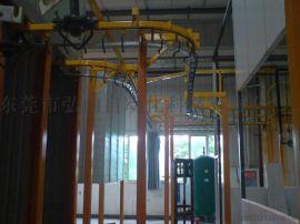 悬挂生产线 吊空流水线 悬挂输送机