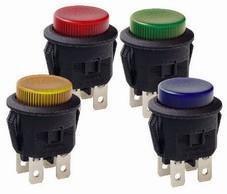 LC210圆形带灯带锁按钮开关