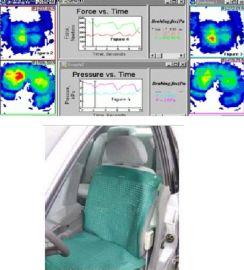 汽車座椅舒適度體壓分布特性測試儀 客車座椅平均受力檢測機