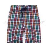 童短裤   2014夏季新款儿童裤子 儿童裤子批发 男童格子短裤 小童短裤 童裤