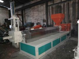 ABS家用电器机壳 汽车保险杆硬料造粒机 包教包会