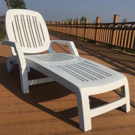 JKZD户外防潮折叠塑料沙滩椅 进口ABS塑料躺椅