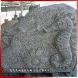 鱼虾海星珊瑚水草海洋生物景观雕塑 海底世界石雕