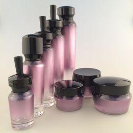 化妆品空瓶厂批日霜保湿膏体包材磨砂玻璃瓶爽肤水分装精华乳液瓶