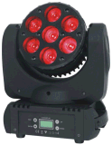 LED7顆10W染色光束搖頭燈