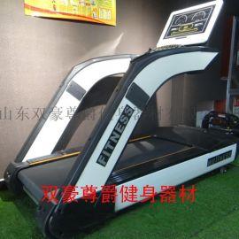 商用健身房跑步机采用全铝高频散热电机