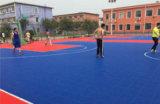 深圳运动地板悬浮地板拼装地板厂家户外篮球场