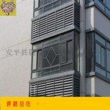 百叶窗厂家专业生产铝合金防雨百叶窗 装饰百叶窗