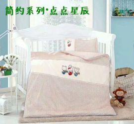 儿童被套四件套可爱儿童床上用品定制生产厂家