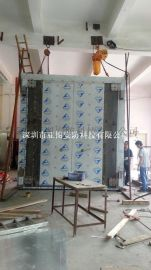 武昌博物馆特大不锈钢B级金库门订购,亚图牌MABC级金库门直销