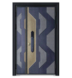 愛仕堡防盜門鑄鋁門 拼接安全門,  定製防盜門 甲級防盜門