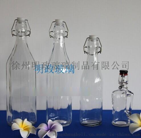 酒瓶包装厂. 红色白酒瓶. 低档白酒瓶
