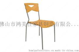 靠背椅,塑料靠背椅廣東鴻美佳廠家大量提供