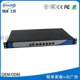 研凌1U-Z87上架式多網口網路安全主機支持OEM/ODM定製