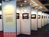 上海八棱柱1X2.5米白色书画展览专用展架展板出租