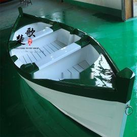 江苏木船厂家供应两头尖手划欧式木船 旅游景观装饰道具船 钓鱼捕渔船