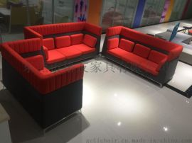 专业定制各种接待异型休闲沙发异型布艺沙发定制