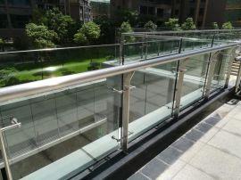 不锈钢玻璃栏杆、**玻璃栏杆、不锈钢加玻璃护栏