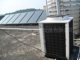 大型宿舍太阳能空气能热水工程