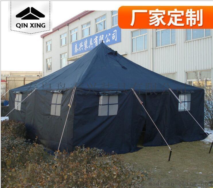戶外帳篷野營 10人野外營地帳篷 大型救災帳篷 野外施工帳篷