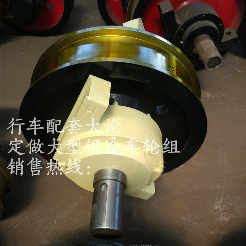 设计法兰盘角箱轮组 800行车大轮 车轮组成套图纸