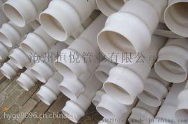 PVC管材有哪些,恒悦管业PVC管产品齐全