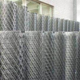 铁路护栏网厂家 轻轨防护网 定做菱形钢板网 公路隔离网