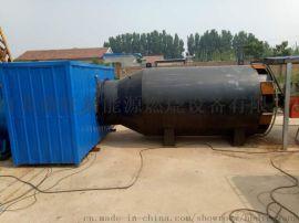 山东旋转烘干窑高温炉改造,8吨燃气燃油燃烧机