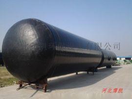 霈凯-三格式玻璃钢化粪池-厂家尺寸可定制