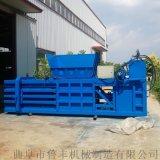 天津廢紙箱廢塑料160噸臥式液壓打包機參數