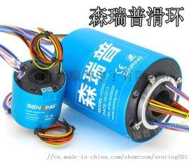 森瑞普过孔式滑环(空心轴导电滑环、旋转电线电缆)