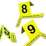 PVC数字牌 L型比例尺 塑料 物证照相 1-100 数字规格