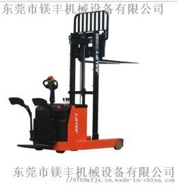 半自动堆高叉车 2吨托盘堆垛车加力小型电动叉车